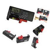 Digital LCD Display Universal Battery Buttons Cell Tester