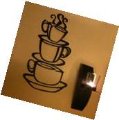 DIY Decor Mural Kitchen Coffee House Cup Decal Removable