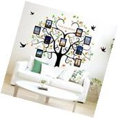 DIY Home Family Decor Tree Bird Removable Decal Room Wall