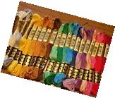 LOT DMC FLOSS #25 SKEIN, 6 STRAND 8.7 YD COTTON - YOUR