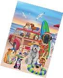 Dog Days of Summer Garden Flag Humor Nautical Beach