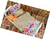 18 inch Doll Bedding Set fits American Girl Accessories