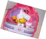 NEW! You & Me Baby Doll Care Accessories in Bag 30 pieces