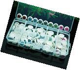 100pcs/box 12mm Doll Eyeballs Half Round Acrylic Eyes for