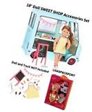 "18"" Doll Food Truck ACCESSORIES SET Icecream Sweet Snack"