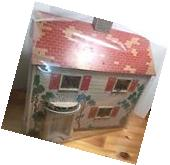 DOLL HOUSE Clear Vinyl dust cover Custom size Fits SMALLER