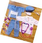Doll Clothes Nurse, Scrubs, Doctor Fits American Girl, 18""
