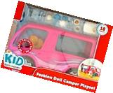 Kid Connection Doll R/V Camper Motor Home - Fits Barbie Do