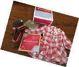 American Girl Doll Western Plaid Outfit New In Box