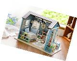 New Flever Dollhouse Miniature DIY House Kit Creative Room