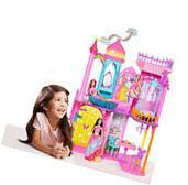 Barbie Dollhouse Rainbow Castle Playset Story Disney
