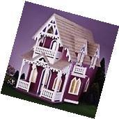 Dollhouse Vintage Miniature Room Barbie Furniture Wood Girls