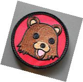 Dope Bear Patch with Hook & Loop backing