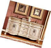72-inch Double Sink Vanity Marble Top Bathroom Cabinet Bath