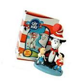New Dr Seuss Cat In The Hat W/ Sally & Her Brother Resin