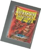 Dragon Shield Red Protective Sleeves Sealed Magic MTG FREE