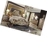 Acme Furniture Dresden 23157EKGold Patina Bedroom Set King