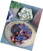NEW NATURAL DRIED BRIGHT BLUE CORNFLOWER FLOWER PETALS &
