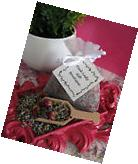 New Natural Dried Lavender & Tiny Petite Miniature Rose Buds