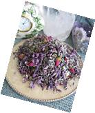 NEW NATURAL DRIED LILAC, PETITE MINIATURE ROSE BUDS  &