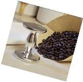 "Dual ESPRESSO COFFEE TAMPER 50 & 55 mm / 2 & 2.25"" - Heavy"