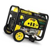 Champion 100231 - 5500 Watt Dual Fuel Portable Generator
