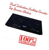 Dual Induction Cooktop Counter Top Burner Electric Surface
