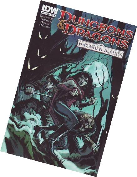 Dungeons & Dragons: Forgotten Realms #3 Cover B Comic Book