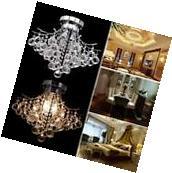 Durable Crystal Chandelier Lighting Ceiling Light Lamp
