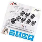 ANRAN HD 8 Channel 1080N DVR 8×720P Outdoor CCTV Home Security Camera System KIT