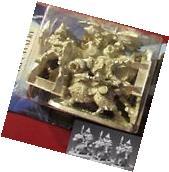 Ral Partha 02-034 Dwarf Cavalry  25mm Miniatures Ram Riders Dwarven Raiders