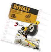 DeWalt DWS780 12-Inch Double Bevel Sliding Compound Miter