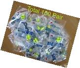 100 Pair 3M  E.A.R. Soft Yellow New Corded Detectable