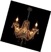 E12 Crystal Chandelier Modern Ceiling Light Pendant Fixture