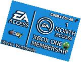 EA Access 1 Month Subscription Key for Xbox One - READ