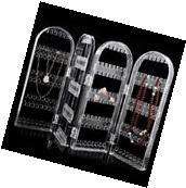 Clear Earrings Ear Studs Necklace Jewelry Display Rack Stand