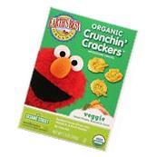 Earths Best Crackers - Organic - Crunchin Crackers - Veggie
