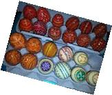 Easter Eggs--Pysanky Eggs-Wooden from the Ukraine