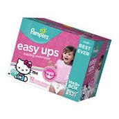 Pampers Boys Easy Ups Training Underwear, 4T-5T, 120 Count