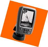 "New Garmin Echo 151dv Fishfinder 4"" w/ DownVü Transducer 77"