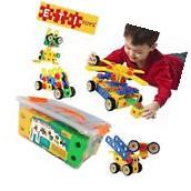 ETI Toys-92 Piece Educational Construction Engineering