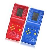 Educational Tetris Game Hand Held LCD Electronic Toys Brick