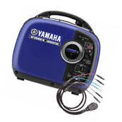 Yamaha EF2000iSv2  Inverter Generator w/ Sidewinder 30-Amp