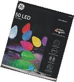 NEW GE Color Effects 50 LED Color Changing Light Show