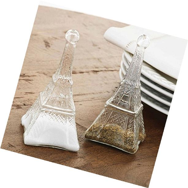 Mud Pie Eiffel Tower Salt and Pepper Set