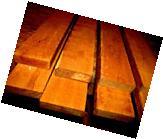 """EIGHT  KILN DRIED PIECES OF FEQ TEAK LUMBER WOOD ~24"""" X 3"""" X"""