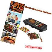 Electric BBQ Grill 1350W Non-stick 4 Temperature Setting