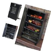 Electric BBQ Smoker Barbecue Grill Outdoor Portable Meat