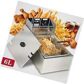 6L Electric Deep Fryer Commercial Tabletop Restaurant Frying
