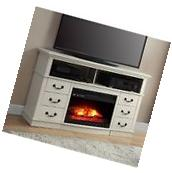 Electric Fireplace TV Stand Flame Media Entertainment Center